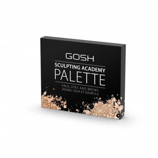 Gosh sculpting academy palette face eyes and brows1