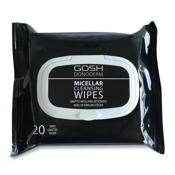 Gosh donoderm micellar cleansing wipes 20szt