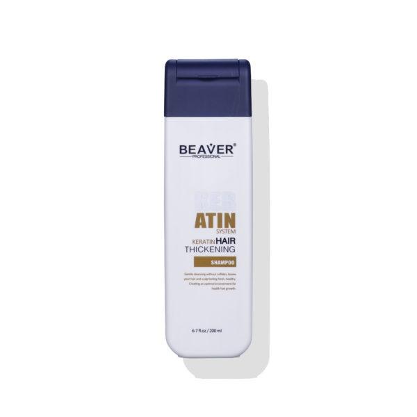 Beaver szampon Keratin 200ml scaled