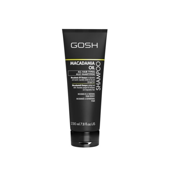 Gosh macadamia oil hair shampoo 230ml
