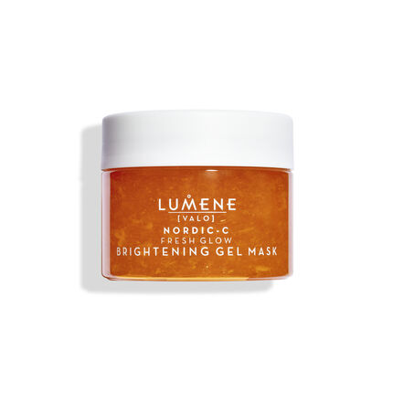 1 1 6412600810455 Lumene VALO Nordic C Fresh Glow Brightening Gel Mask jar updated